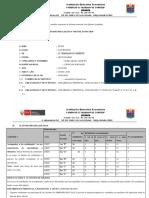 MODELO DE INFORME MENSUAL - SECUNDARIA