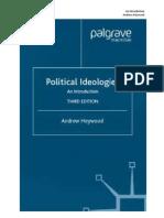 Politics Ideologies