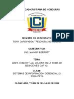 MAPA CONCEPTUAL MEJORA EN LA TOMA DE DESICIONES CAP 12.