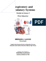 Module on Respiratory and Circulatory System.docx