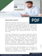 Mail_Comunicado Transf Economica