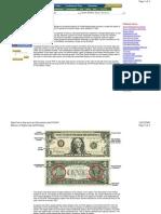 The US Dollar Bill