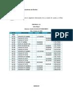 EJERCICIOS CONCILIACION BANCARIA