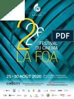Brochure Festival Du Cinema La Foa 2020