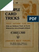 50 Simple Card Tricks - Charles Prince