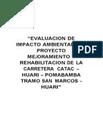evaluacion de IMPACTO AMBIENTAL EN CARRETERAS.docx