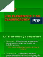 Tema 3 Los elementos y su clasificación
