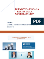Semana 13 - Problematica Fiscal- Conceptos de la DII y Convenios DI