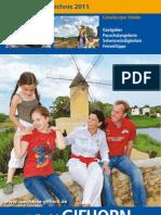 Südheide Gifhorn 2011 Gastgeberverzeichnis