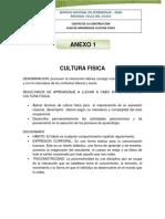 ARTICULOS DE LECTURA CULTURA FISICA