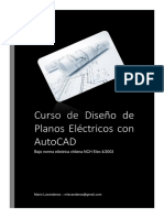 Diseño de Planos Electricos Asistido en AutoCAD