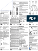 Z109REG2_Manuale di Installazione (IT-EN-FR-DE-ES)