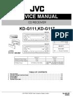 JVC KD-G111,G117