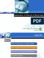 Rural India and ICT