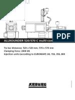 ALLROUNDER 520-570 C MULTI COMPONENT