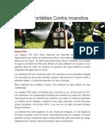 Equipos Portátiles Contra Incendios (fas)