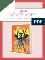 Catálogo de novedades RBA agosto septiembre 2020