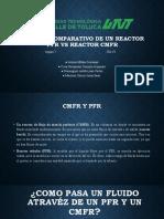 Análisis comparativo de un reactor PFR vs Reactor