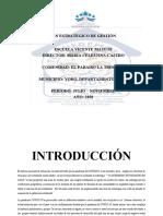 PLAN ESTRATEGICO DE GESTIÓN VICENTE MATUTE  EL PARAISO