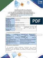 Guía de actividades y rúbrica de evaluación -Fase 2 - Absorción, extracción y lixiviación