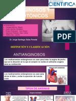 Anti-anginosos y Cardiotónico - Farmaco.pptx