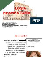 SEMIOLOGIA RESPIRATORIA 2017