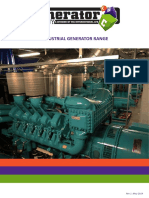 The Generator Industrial Diesel Generator Range WEB