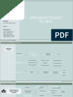 EXPENDIENTE TÉCNICO DE OBRA. 20.07.20