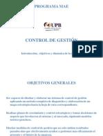 5 INTRODUCCION CONTROL DE GESTIÓN