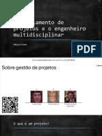 Gerenciamento de projetos e o engenheiro multidisciplinar.pptx