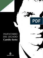 Inventario Legado Camilo Sesto