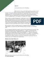 Histoire  de la ville dIFRANE