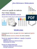 Ligações Iônicas e Moleculares