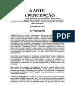 A ARTE DA PERCEPÇÃO- DÁRCIO DEZOLT