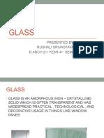GLASS (RUSHALI)
