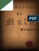 Gazette de Nuln 01
