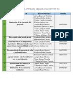 ROL DE ACTIVIDADES PARA LA EJECUCUION DEL PROYECTO RESPOSABILIDAD SOCIAL VI GRUPO ANTIVIRUS (2)