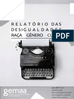 GEMAA - Relatório das desigualdades sociais