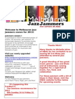 Jammers enews 12 January 2011