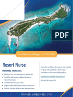 Job Poster Nurse- 29.07.2020