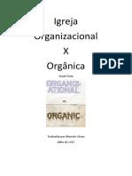Igreja Organizacional x Organica