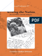 (Cross_Cultures) Cynthia Vanden Driesen - Writing the Nation_ Patrick White and the Indigene-Rodopi (2009)