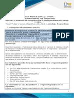 Guía para el desarrollo del componente práctico - Unidades 1, 2 y 3 - Tarea 3 - Realizar el componente práctico pre
