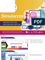 Instructivo simulacros -Virtuales