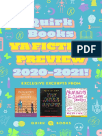 Quirk Books YA Fiction Preview 2020–2021