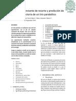 Informe 2-Movimiento parabolico