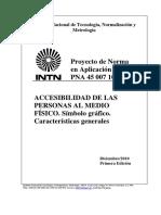 PNA 45 007 10 – Símbolo gráfico
