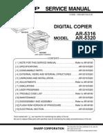 SHARP AR-5316_AR-5320 SM
