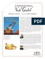 The Hanukkah Magic of Nate Gadol Author's Note