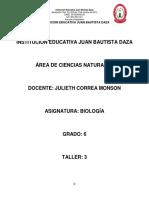 biologia taller 3